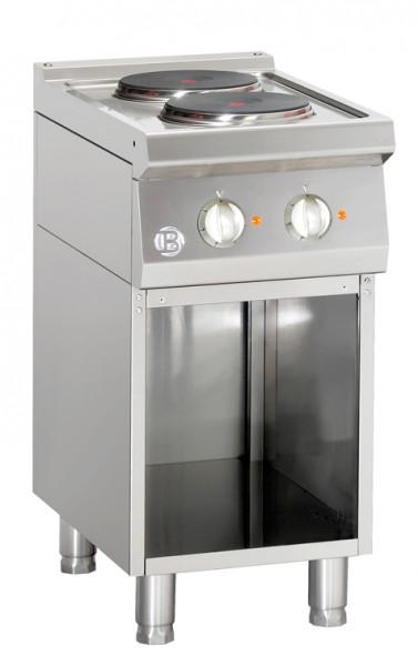 Bartscher Elektroherd 2 Platten - Serie 700 286102