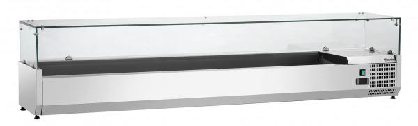 Bartscher Kühlaufsatzvitrine GL3 9 x 1/3 GN 110179