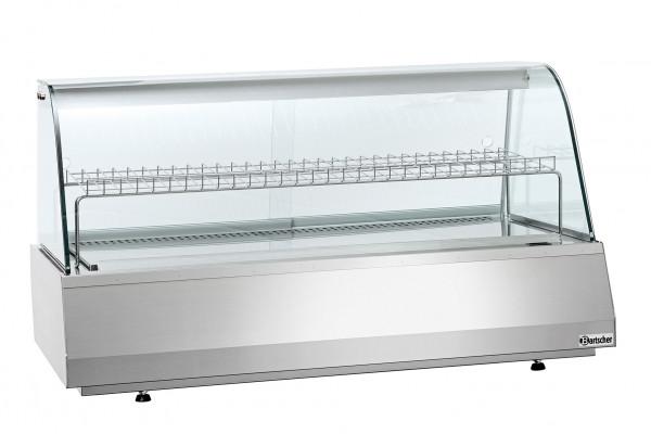 Bartscher Aufsatzkühlvitrine - 3/1 GN - rund 405052